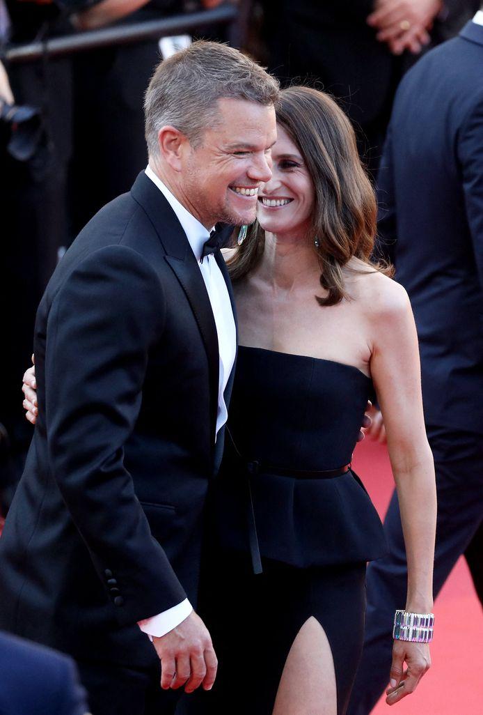 Matt Damon et Camille Cottin