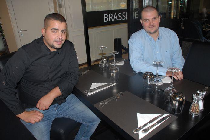 Kamal en Emmanuel van Brasserie The Spoon.