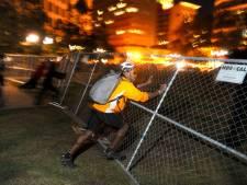 Occupy-demonstrant VS zwaargewond na politieactie