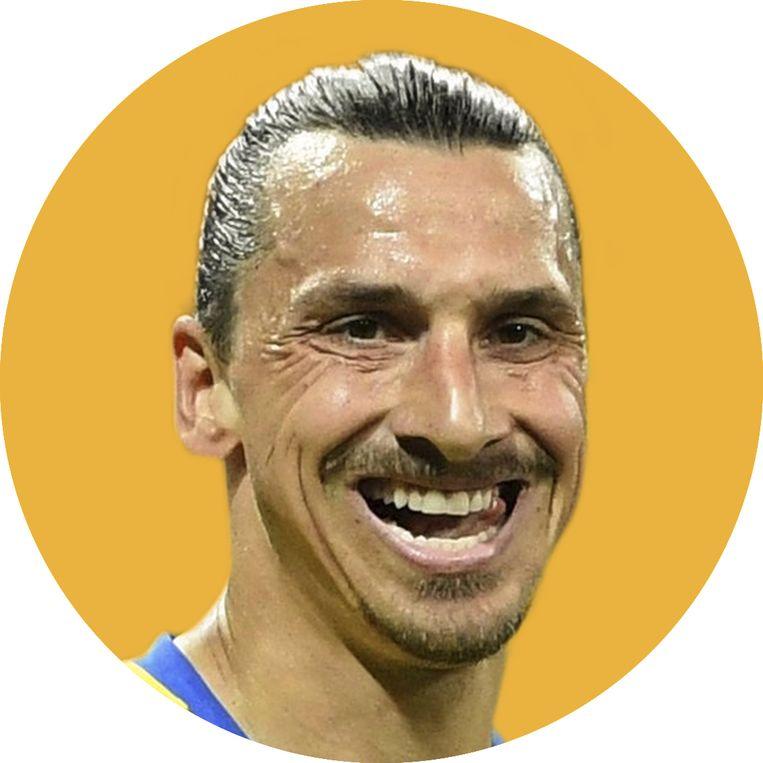 Zlatan Ibrahimovic. Beeld rv