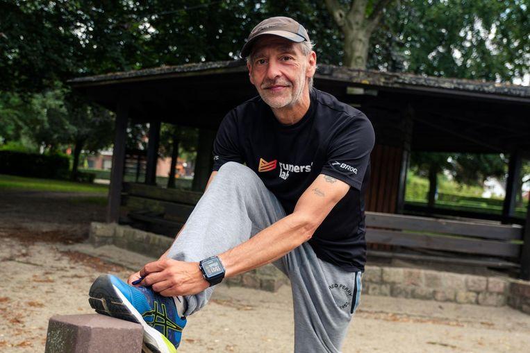 Alain Aerts bindt zijn loopschoenen al aan om klaar te zijn voor de Tettenkoploop zondag.