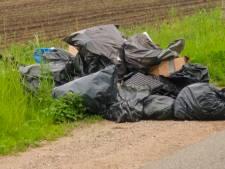 Tal van afvalzakken met resten van hennepkwekerij gedumpt in Budel