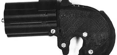 Student veroordeeld voor maken van pistool met 3D-printer