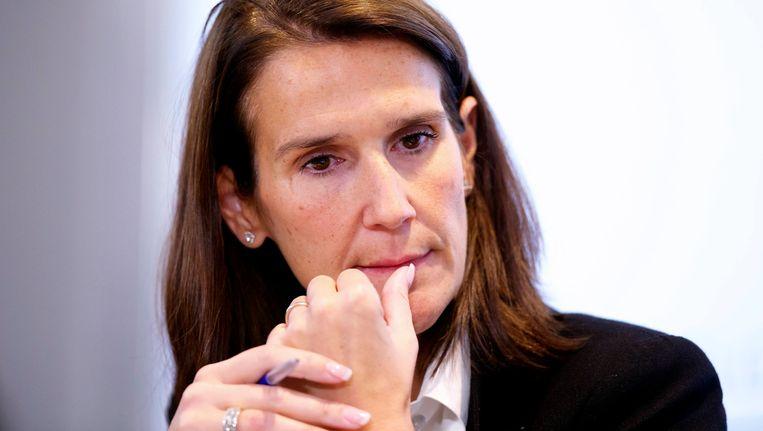 Minister van Begroting Sophie Wilmès. Beeld BELGA