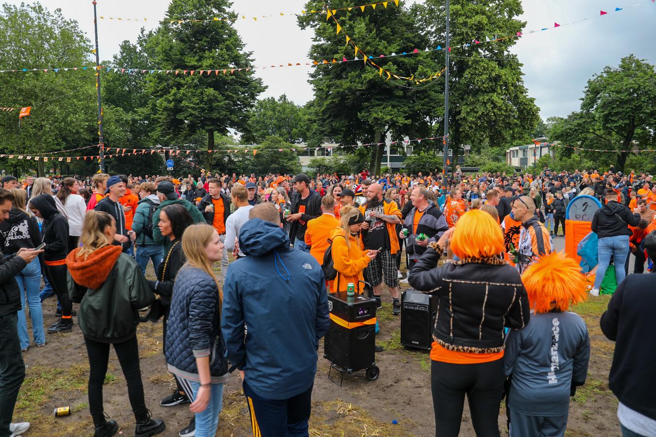 De Oranjerotonde loopt direct na de wedstrijd tegen Nood-Macedonië vol.