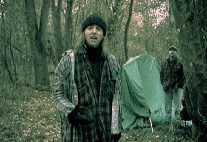 Scène uit de horrorfilm The Blair Witch Project.