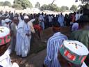 De begrafenis van Alpha Omar in Nema Kunku.