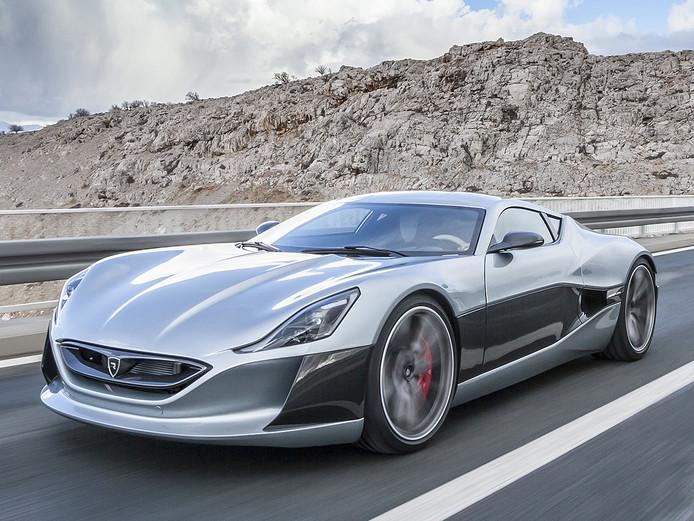 De elektrische Rimac Concept One heeft meer dan 1.000 pk, maar kost ook meer dan een miljoen euro