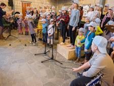Zoveel mogelijk kids op de bühne bij kinderkoorproject Zierikzee