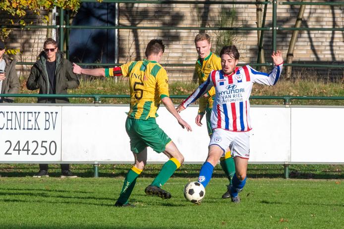 De mannen van JEKA (hier op archieffoto tegen Rijen) staan vanaf nu onder leiding van coach Ivo van Moergestel.