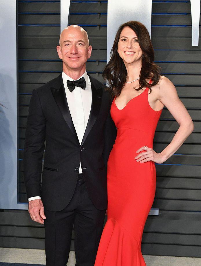 Jeff Bezos et son ex-femme