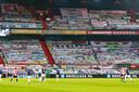 De Kuip vorige week: Feyenoord tegen Emmen.