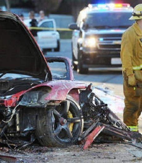 Porsche aangeklaagd voor dodelijke crash Paul Walker