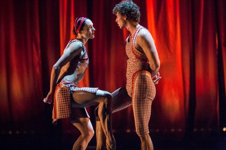 De kostuums voor Ballet Vlaanderen.