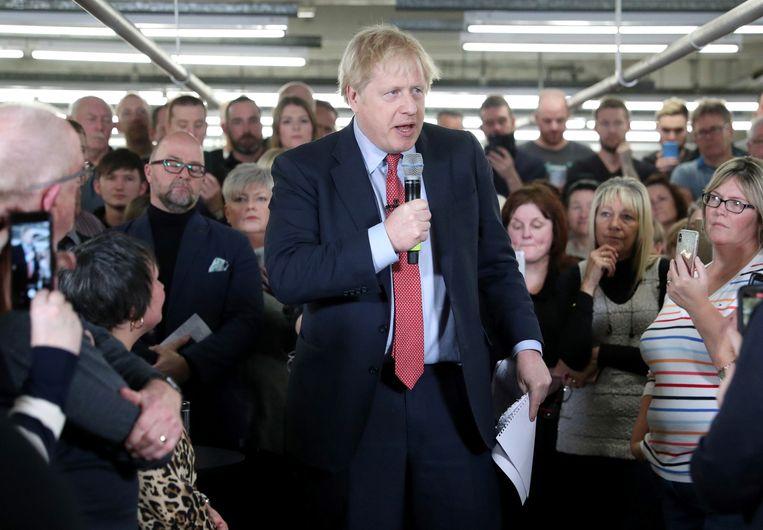 De Britse premier Boris Johnson. Beeld Getty Images