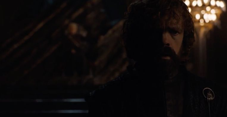 Dany heeft het ondertussen ook op Tyrion gemunt.