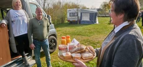 Nieuwe website toerisme Meierijstad - 'dé plek voor genieters' - gepresenteerd met ontbijtje voor campinggasten