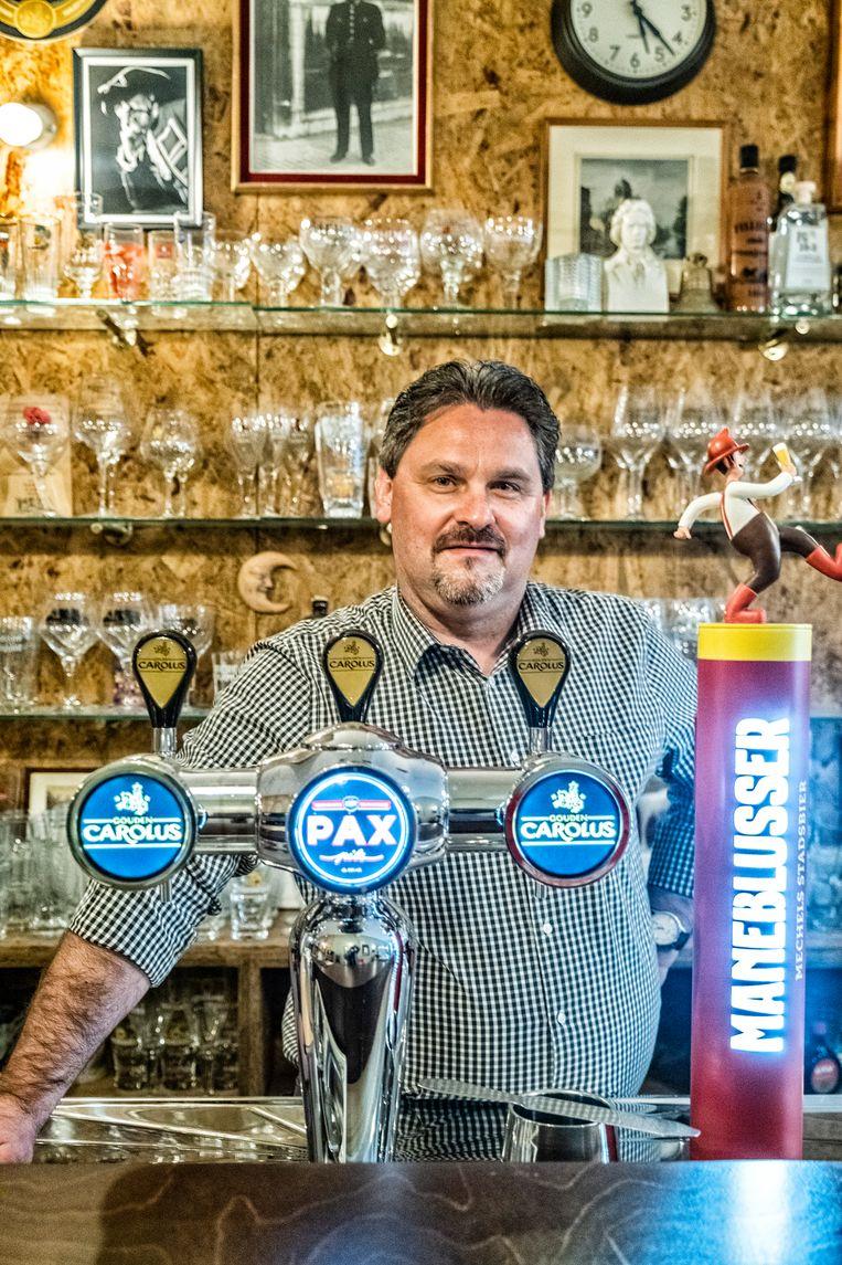 Kevin Polfliet (44), cafébaas. Beeld Tim Dirven