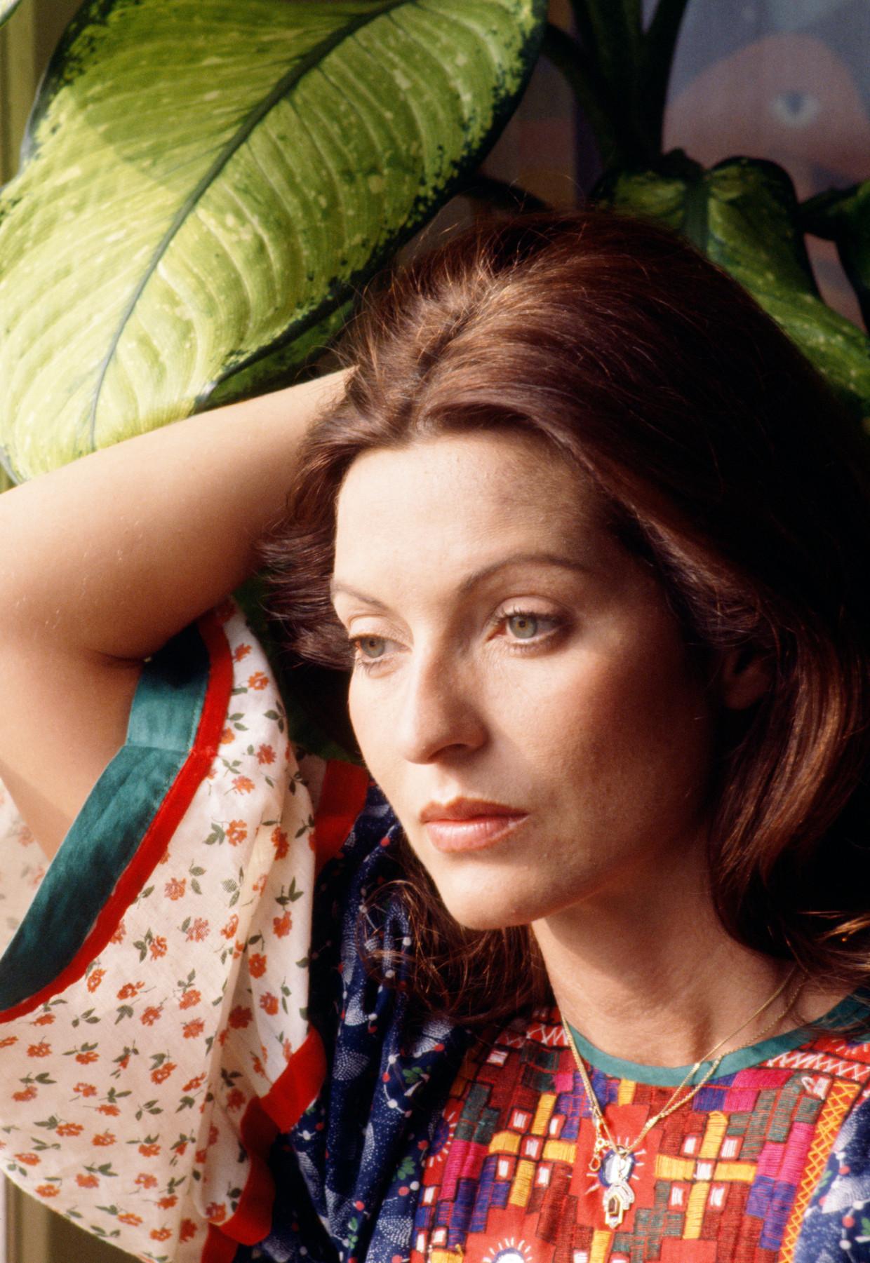 'Ze was altijd strijdvaardig. Ik geloof nooit dat ze zelfmoord zou hebben gepleegd.' Beeld Sygma via Getty Images