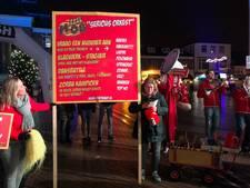 Blaaskapel uit Brummen bouwt eigen feestje op hoek plein