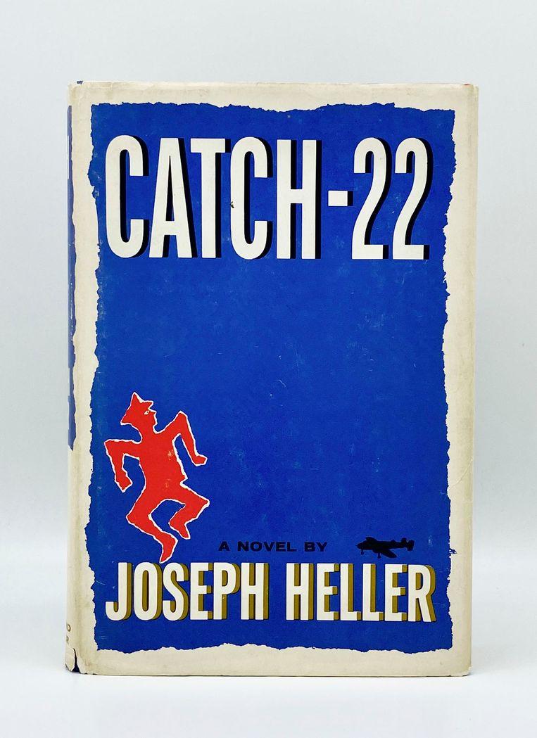 Joseph Heller: Catch-22. Ontwerp Paul Bacon. Simon & Schuster, 1961. Beeld