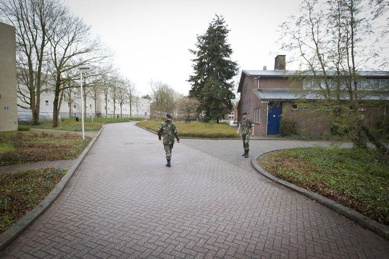 De marinierskazerne in Doorn.  Beeld ANP