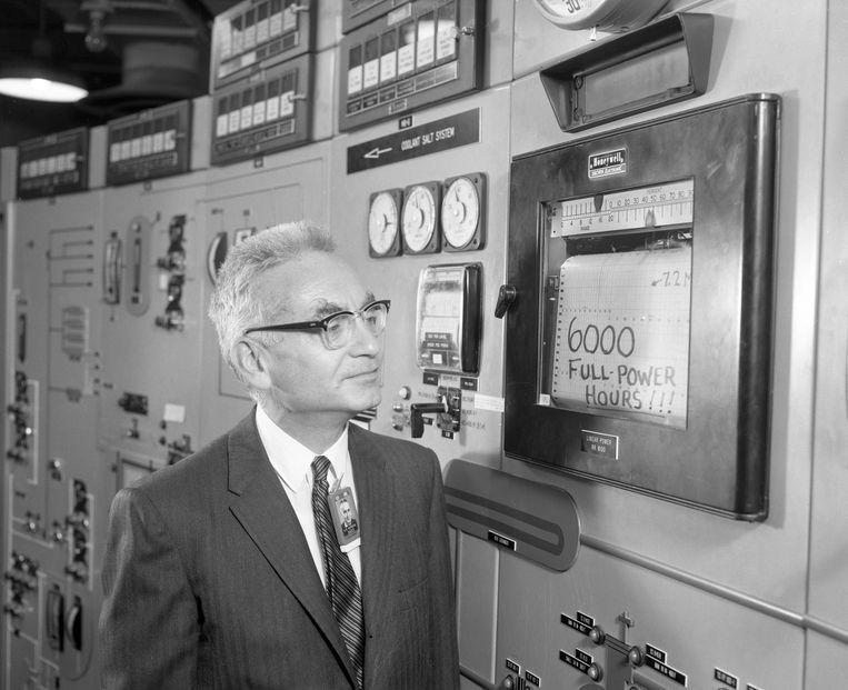 In de jaren zestig werd in de Verenigde Staten al een gesmoltenzoutreactor ontwikkeld, de Oak Ridge National Laboratory.  Beeld Oak Ridge National Laboratory