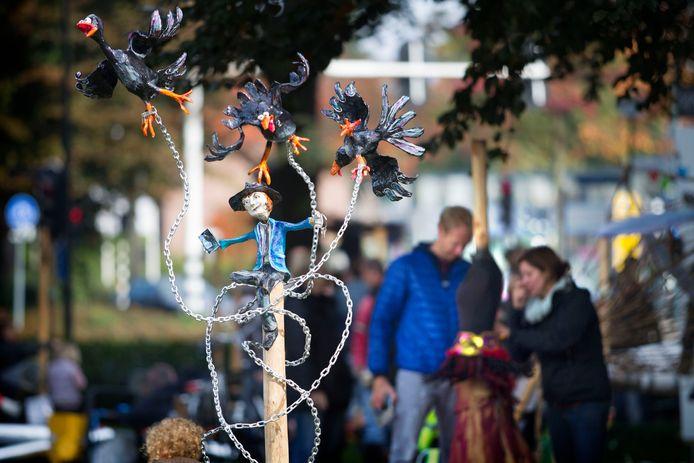 Het Vogelverschrikkerfestival in Valkenswaard, een aantal jaar geleden. De jongeren van de nieuwe jongerenafdeling van SvV verlangen terug naar dat evenement.