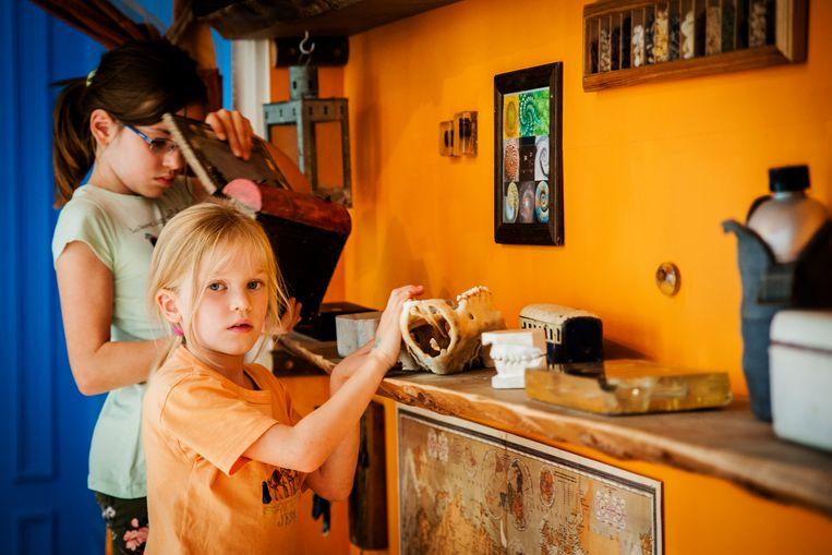 Het Kindermuseum in Elsene. Beeld RV