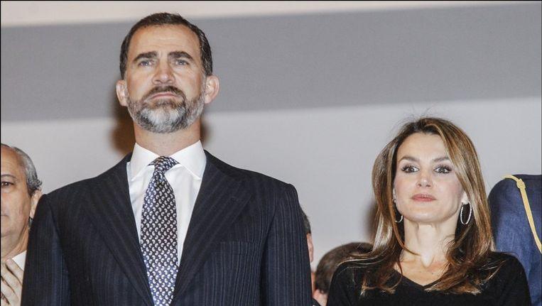 Prins Felipe en prinses Letizia van Spanje Beeld PHOTO_NEWS