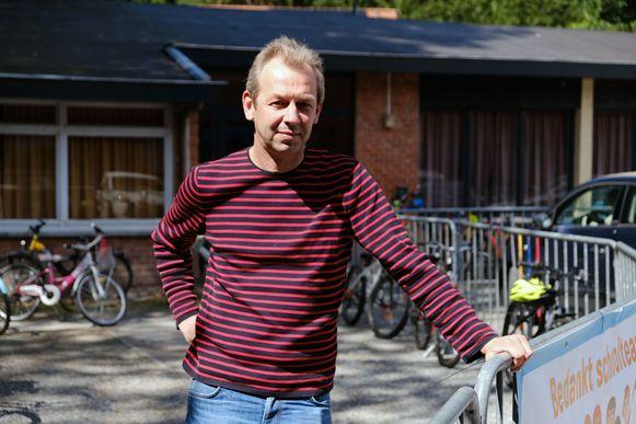 Directeur Bart Van Dievel van basisschool De Bosuiltjes.