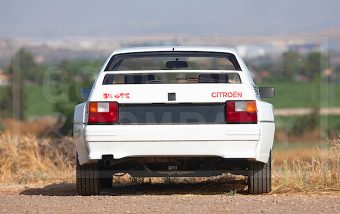 Citroën BX Rally.