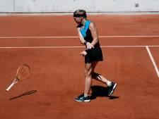 Dramatische aftocht Kiki Bertens op Roland Garros