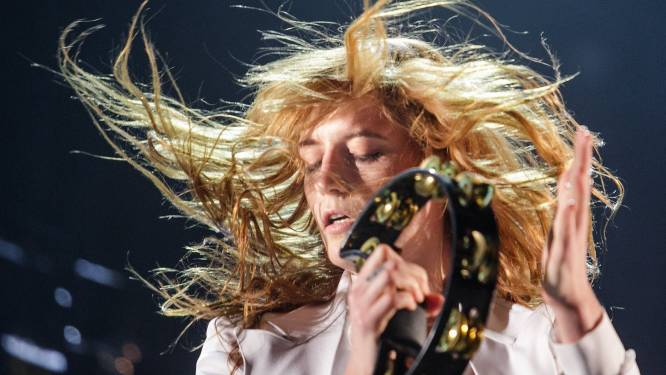 Vrouwen boven op eerste festivaldag Rock Werchter
