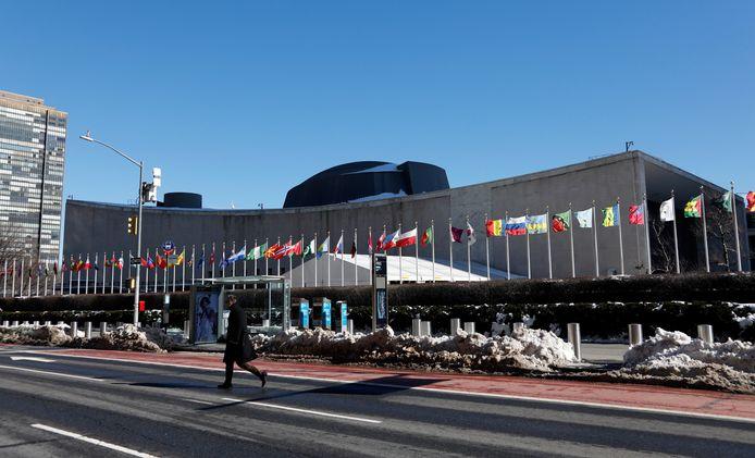 Het hoofdkwartier van de Verenigde Naties in New York.