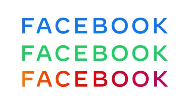 De nieuwe huisstijl van Facebook. Beeld Facebook