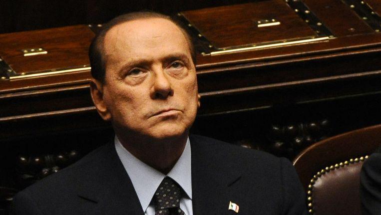 Berlusconi. Beeld AFP