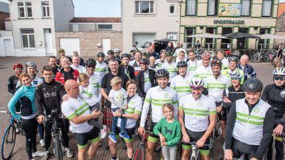 """In een mum van tijd 40 deelnemers aan fietsbenefiet van 280 kilometer voor mucopatiënten: """"Zò groot is het enthousiasme in Zingem"""""""