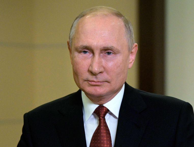 Russisch president Vladimir Poetin. Beeld AFP