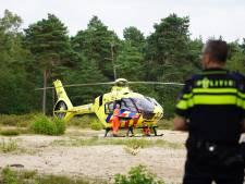 Mountainbiker overgebracht naar ziekenhuis na val in Dorst