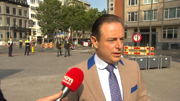 Bart De Wever op een plechtigheid in Antwerpen