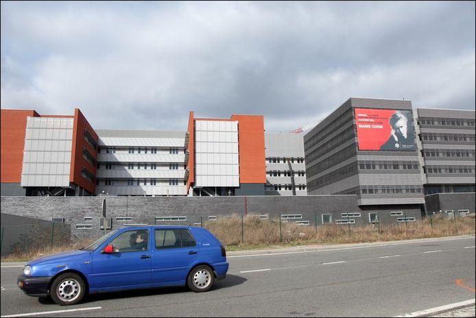 L'hôpital Marie Curie à Charleroi