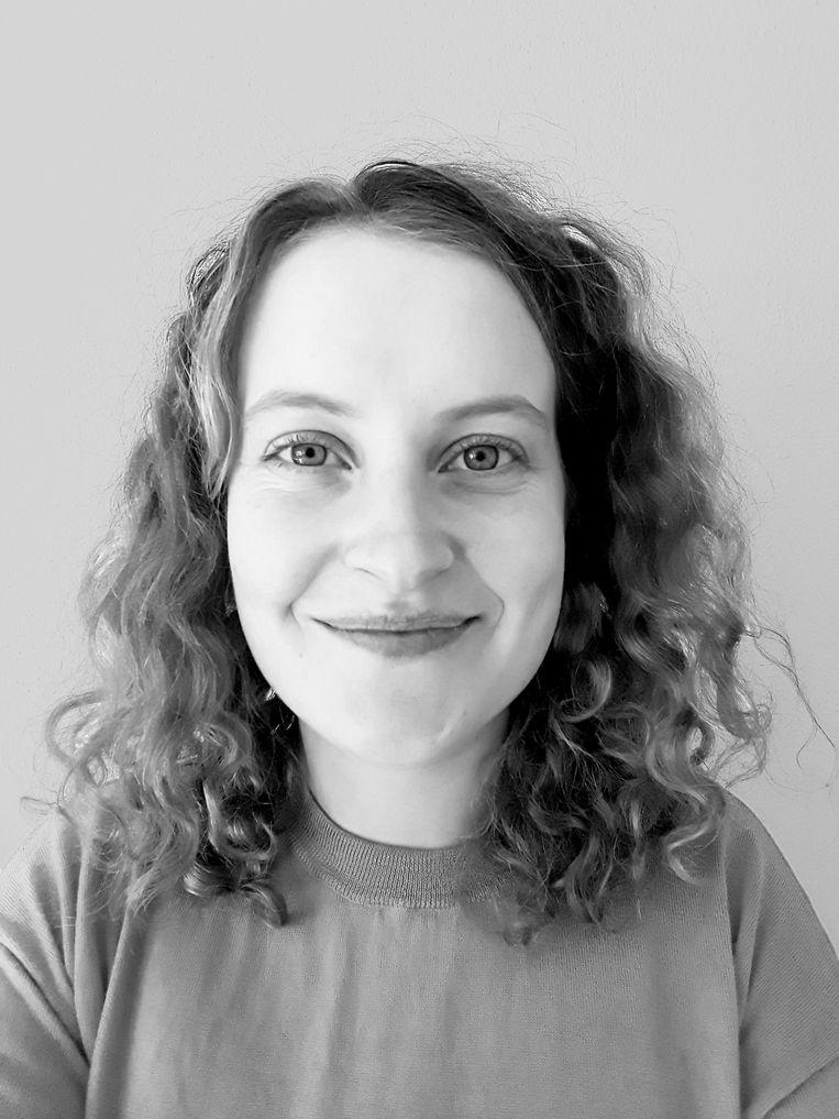 Aline van de Watering, sociologe en fulltime moeder Beeld -