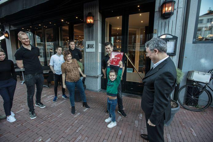 Jermain de Rozario ontvangt zijn Michelinster in Helmond