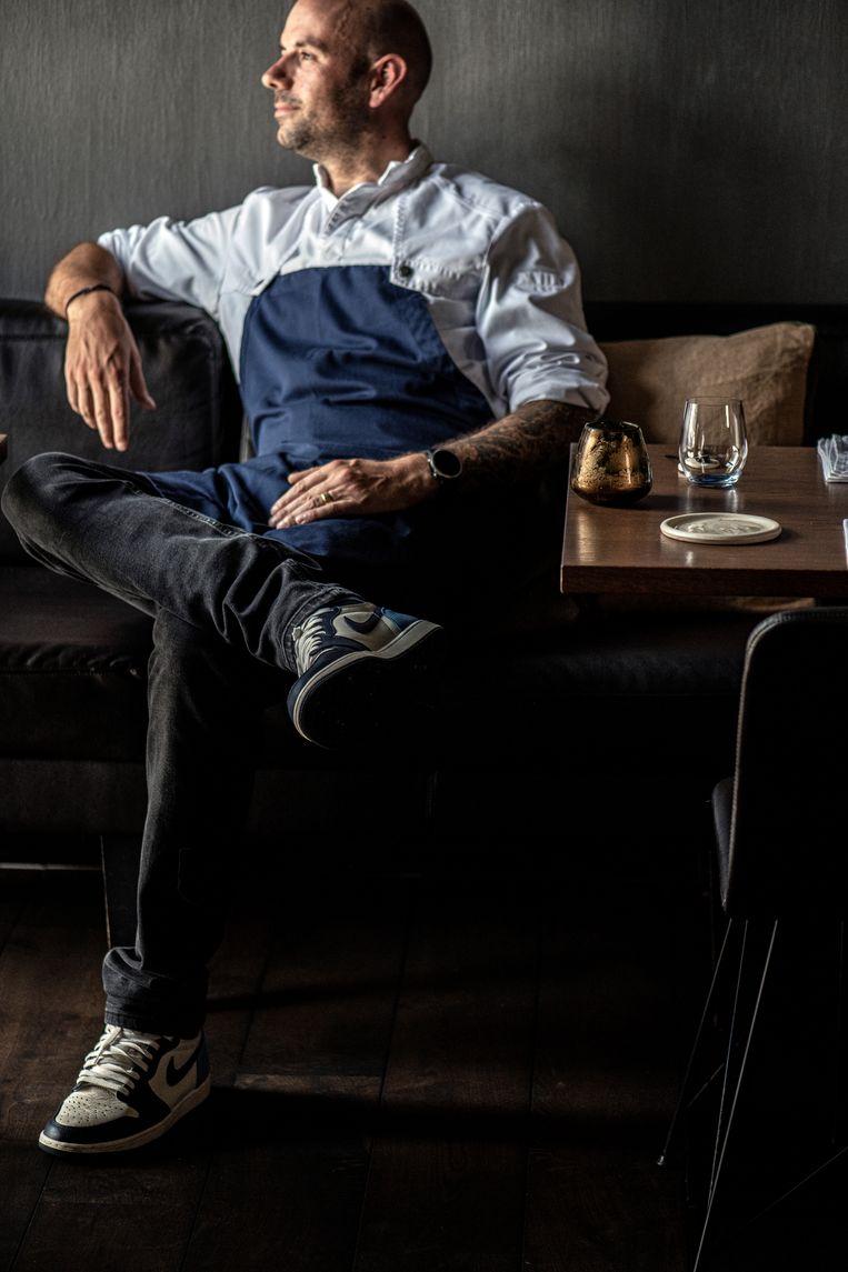 Chef Gilles Melchior. Beeld Kris Vlegels