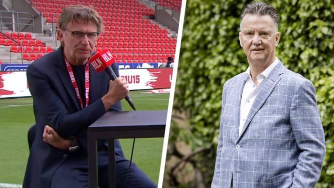 """Louis van Gaal donderdag te gast in talkshow van Antwerp, Erik Van Looy is onder de indruk: """"Straf dat ze die tot hier kunnen halen"""""""