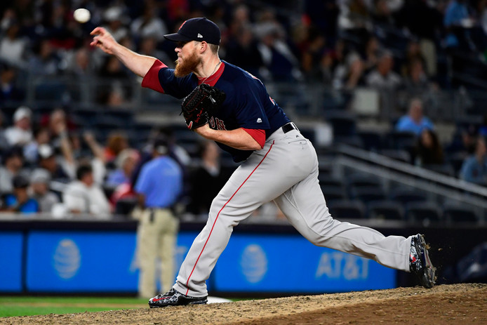 Craig Kimbrel van de Boston Red Sox.