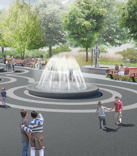Wijkpark Oude Westen krijgt facelift: vier fonteinen