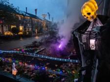 Versierde huizen voor Halloween: 'Sommigen noemen het de gezelligste straat van Hank'