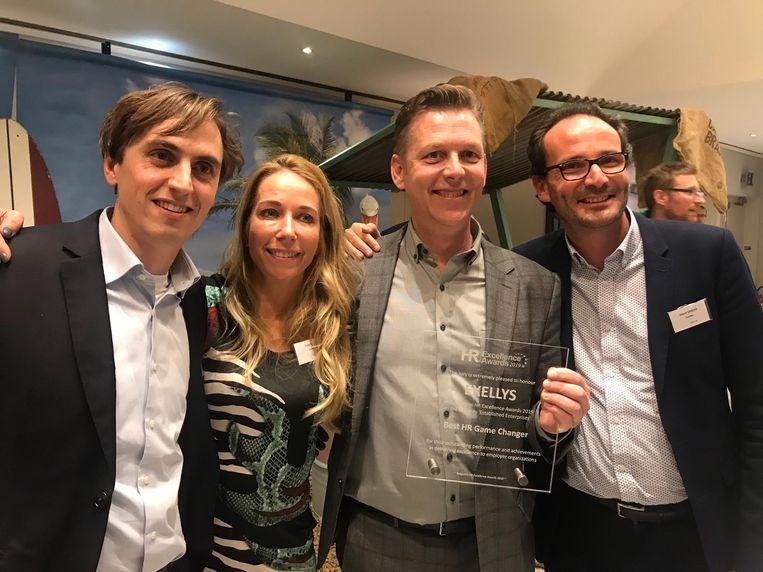 Exellys werd verkozen tot 'Best HR Game Changer of the Year'